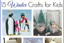 Winter Fun for Kids / Winter Activities, Games, and Winter Craft Projects for Kids.