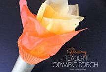 CELEBRATE {The Olympics} / Ways to celebrate and enjoy the Olympics! / by Angela @ Frugal Living NW