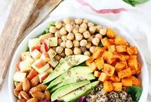 COOK {Salads} / Easy salad recipes that help you stay healthy.