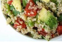COOK {Quinoa} / Quinoa salad and other quinoa recipes. Plus, how to cook with quinoa