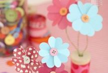 DIY Flowers / Making flowers from various materials