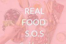 Eating Real Food S.O.S / Intro to paleo eating, paleo recipes, why eat paleo?, paleo myths, how to eat paleo, healing with nutrition, paleo tips, easy paleo