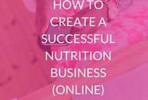 Online Nutrition Business / How to create a profitable online nutrition business, tips for online business, holistic nutritionist, holistic entrepreneurs, online nutritional therapy biz, nutrition blogging