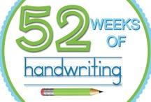 OT writing/handwriting / by Cathie Lazor