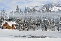 MOUNTAIN WINTER WEDDINGS Banff Wedding Planner / Cozy winter wedding ideas for weddings in the Canadian Rocky Mountains in Banff, Canmore, Lake Louise, Jasper,Fernie, Golden and Emerald Lake.