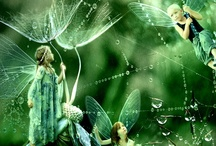 Fairies and elves and gnomes,  oh my!  / by Janel