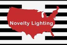 Kids/Novelty Style Lighting / Lighting designed for children or the whimsical child in all of us.