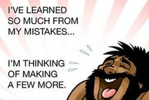 CAVEMEN WISDOM & Quotes / Cavemen know a lot about the struggles of life. These quotes will fill you full of wisdom. Please repin and share your favorites to Facebook. #cavemen #paleo #quotes