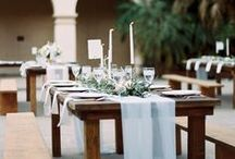 TABLESCAPES Banff Wedding Planner / Tables are the heart of the reception and set the overall mood for your wedding and event. These table setups would be perfect for a Canadian Rocky Mountain Wedding in Banff, Canmore, Lake Louise, Jasper and Emerald Lake.