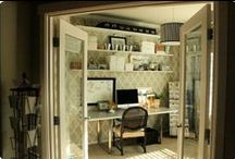 Craft room ideas / by Laura Dupaix
