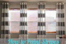Curtain ideas / ideas / by Laura Dupaix