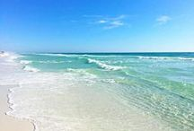 The most beautiful beach / With sugar white sands and emerald green waters, Sandestin Golf and Beach Resort sitting on the Gulf Coast of Florida, is one of the most beautiful beaches. / by Sandestin