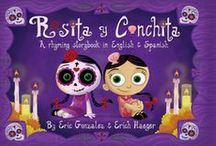 Lily's Bilingual Library / A collection of bilingual Spanish learning aids for my daughter.