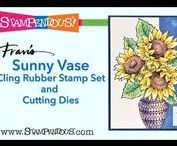 Stampendous Video Tutorials / Videos from Stampedous YouTube Channel that show a huge variety of techniques possible with our products. You can see lots more at http://www.youtube.com/stampendous
