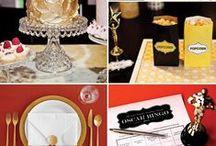 Golden Birthday Party Ideas / #Hollywood Theme adult #Golden #Birthday party mood board.  / by Tikeisha Harris