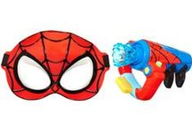 Spidey Love ♥ / A cool list of favorite things for the Spider-man obsessed kid.  Lily is gonna love this!