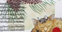 House-Mouse Designs® Projects / Stampendous is the proud manufacturer of House-Mouse Designs® Stamps from the pen of Ellen Jareckie.