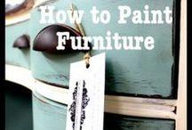 Furniture Makeover / by Perdita Shook