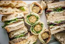 Eden Express / A delivery service for sandwiches, finger food, hot bowls, salads, cakes, breakfasts & more