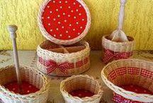 Košíky / Výroba proutěných košíků. Vyrobím i na zakázku dle přání zákazníka