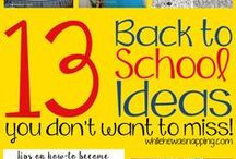 Back to School / Back to school time can be crazy! Manage the chaos with these curriculum ideas, teacher's gift ideas, special things for the kids and more.