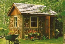 Cottages,Treehouses, Gazebos, Sheds / Cottages, treehouses, sheds, gazebos can be magical little places to hide away from our day to day.