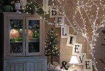 Home for the Holidays / decorating, fun, recipes for Christmas at home