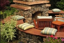 Fireplaces, Firepits and Woodstoves / Whether indoors or out, a warming fire creates an ambience that makes the soul glow.