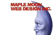 Maple Moon Web Design Inc / Award winning webdesign for over 20 years. http://www.maplemoonwebdesign.com  We build relationships as well as websites!
