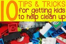 Cleaning Tips & Tricks / Tips, tricks and ideas for keeping your life clean, organized and mess-free!