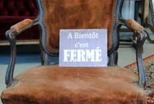Fabulously French Boutique / board containing photos of items in stock at http://www.fabulouslyfrench.com