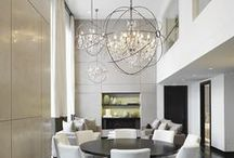 lounges and lofty spaces / by Kristen Wright Design