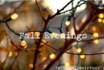 September, October, November / by Hannah Flier
