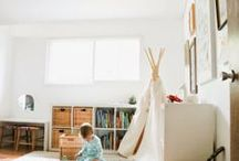 farmhouse KIDS ROOM / by Jennifer Seifert