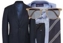Men - Office & Interview Looks / Check out stylish office outfits for the gentlemen! / by Pyramid Consulting Group