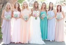 Bride + Bridesmaid Dresses (& Fashion) / wedding inspiration - weddings downs, bridesmaid dresses, shoes, and accessories. / by Ashley + David Photography