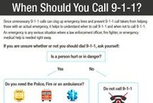 9-1-1 Safety Tips / Knowing the Basics About 9-1-1 Could Save Your Life / by Smart911