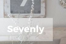 """Seven is More Than a Number / The name Sevenly was chosen as a distinct play off the word """"heavenly""""; which we interpret as """"a world without need"""". This concept combined with the numeral 7, which Biblically has always represented the number of completion, defines not only our name but upholds our mission as well."""