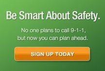 Smart911 / Smart911 is a free, private, and secure service that allows citizens to create a #Safety Profile for their household that includes any information they want 9-1-1 to have in the event of an #emergency call. / by Smart911