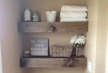 Bathroom / Ideas to use in my own home someday.  / by Ally Adams