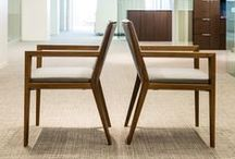 "NeoCon 2014 / We have a fantastic showroom this year at NeoCon... with the introduction of two new chairs: Lily and Savor. Savor won ""NeoCon Editor's Choice Award""!"