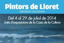 Pintors de Lloret 2014 / Obres d'artistes de Lloret de Mar / by Expovirtual @bibliolloret