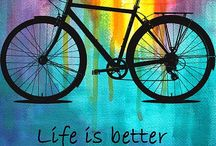 Life....the complete cycle / Cycling, avoiding the run arounds...