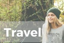 Travel the Great Outdoors / The mountains are calling and I must go! Nature brings inspiration, cities bring adventure, and traveling broadens horizons. Here's where we celebrate this beautiful world we live in!