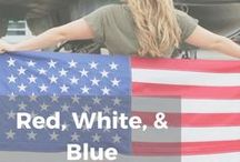 Red, White, & Blue / It's always a good time to celebrate America! Let red, white, and blue inspire you.