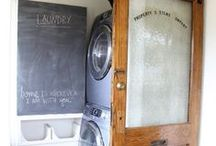 laundry rooms / pretty spaces to do laundry-form and function