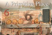 ★ ✩ Check It Out ★ ✩ / by A Primitive Place & Country Journal Magazine