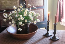 ★ ✩Spring Thyme Displays★ ✩ / by A Primitive Place & Country Journal Magazine