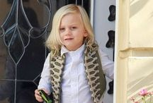 Mini Celebs' Style / by Boys Be Cool - Contemporary Kids Fashion