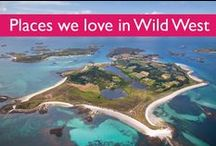 ♣ Places we love in the Wild West / Places we love in Cornwall, the Isles of Scilly, and the surrounding counties.